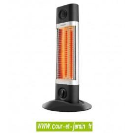 Chauffage infrarouge Veito SIGMA 1200w Noir sur pied