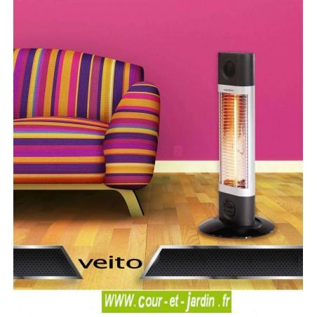 Exemple d'utilisation du Chauffage infrarouge Veito SIGMA 1200w sur pied
