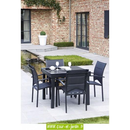 Salon de jardin aluminium, salon de jardin design
