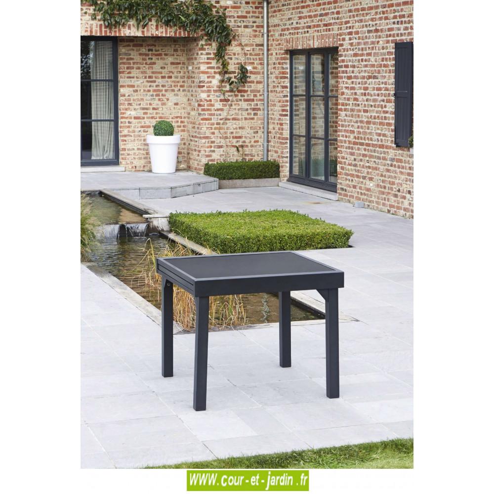 salon de jardin aluminium salon de jardin design. Black Bedroom Furniture Sets. Home Design Ideas