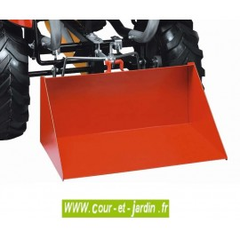 Unité de levage pour tracteurs à pédales