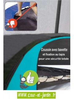 Trampoline PUNCHI ATOLL - coussin