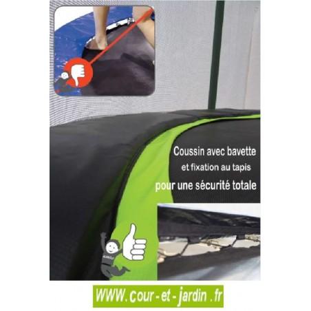Trampoline PUNCHI ALOE 300 Kangui - coussin
