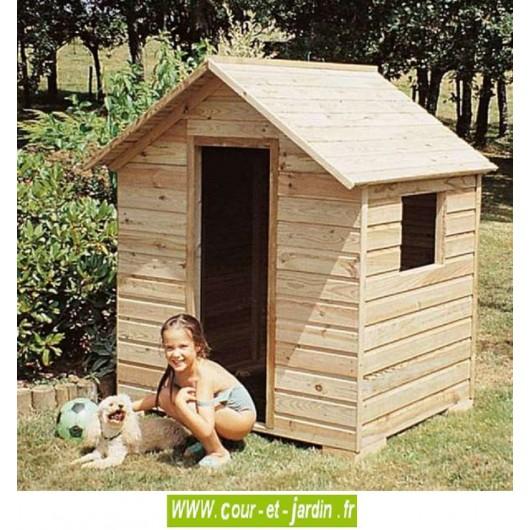 cabane de jardin enfant bois cabane enfant maison enfants jardin. Black Bedroom Furniture Sets. Home Design Ideas