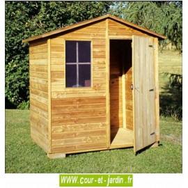 Abri bois Eco 2,16 m²