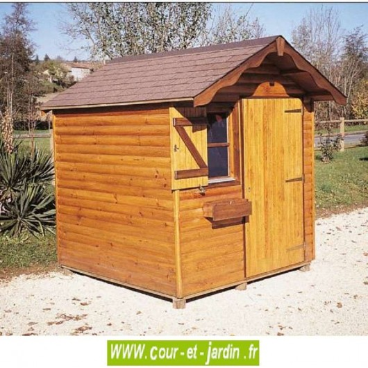 abri de jardin alsace bois 4 m2 abris jardin alsace. Black Bedroom Furniture Sets. Home Design Ideas
