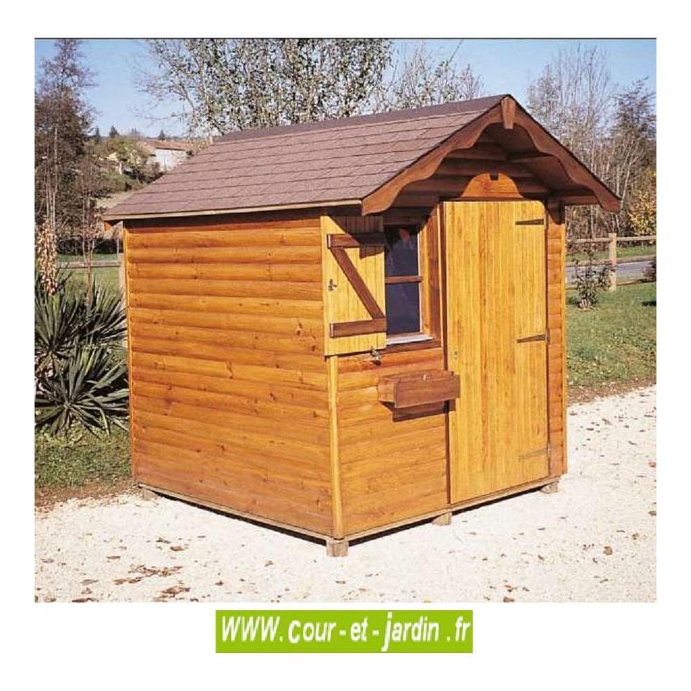 Cabane À Outils Bois abri bois alsace 4m² - abris et rangements- cour et jardin