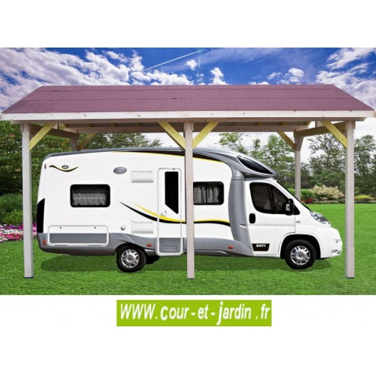 carport camping car bois abri camping car carport bois abris en kit. Black Bedroom Furniture Sets. Home Design Ideas