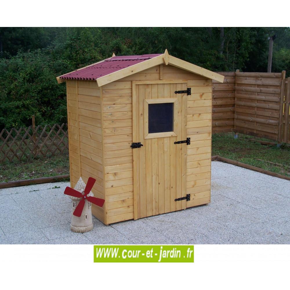 Abri eden avec plancher abris et rangements cour et jardin - Cabane en bois de jardin pas cher ...