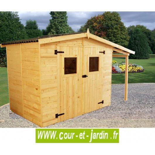abri de jardin petit bois avec b cher abris de jardin pour b ches. Black Bedroom Furniture Sets. Home Design Ideas