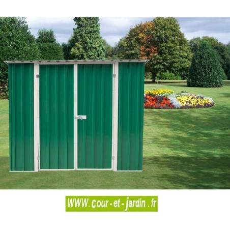 Abri de jardin métal AM1812 - 183x123cm Surf. 2,25 m2