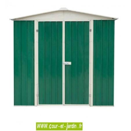 Abri de jardin métal AM1912 - 195x123cm - surf. 2,39 m2
