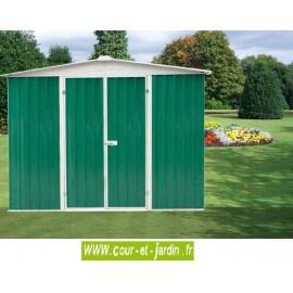 Abri de jardin métal AM2424T, abri jardin pas cher 6m²