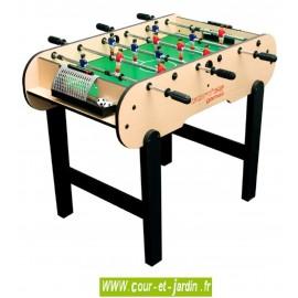 Baby foot CALCIO de Cortes Games pour enfants, à 6 barres seulement.