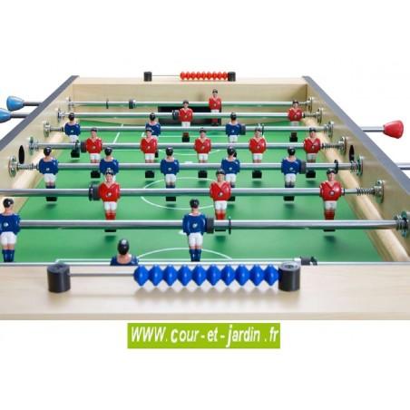 Baby foot CORNER - joueurs
