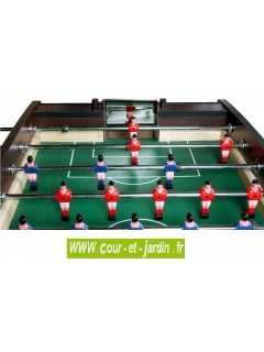 Baby foot CAMEO V2 inspiré du baby-foot bistrot. Babyfoot Cortes games