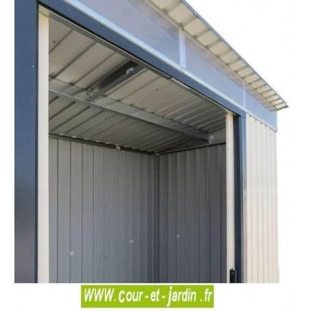Abri Métallique abri de jardin métallique skylight 8x6 duramax - toit une pente