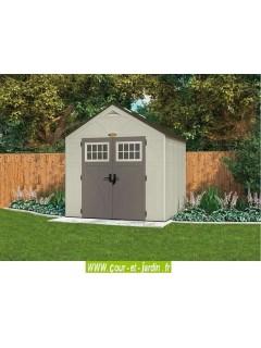 Abri de jardin 5m² Suncast Woodgrain en résine de 35mm