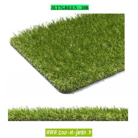 gazon artificiel jet7green 30 r pas cher. Black Bedroom Furniture Sets. Home Design Ideas