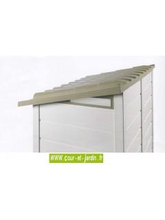 Abri jardin pas cher : EVO 100 - abri résine, bicolore