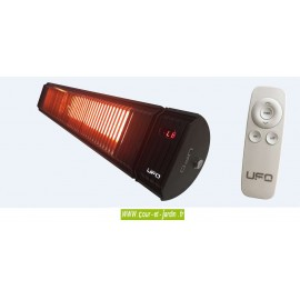Chauffage infrarouge Solar 2500w à télécommande