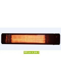 Chauffage d'appoint infrarouge Solar 2500w à télécommande