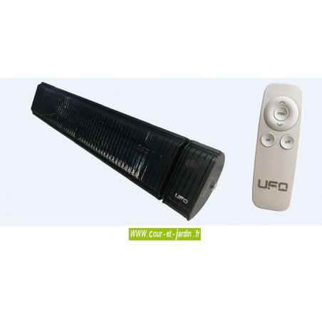 Chauffage par infrarouge Solar 3000w noir à télécommande