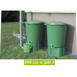 Kit de 2 cuves à eau cylindriques