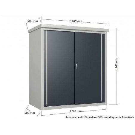 armoire jardin ext rieure de terrasse armoire exterieur rangement. Black Bedroom Furniture Sets. Home Design Ideas