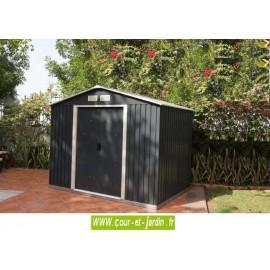 Abri de jardin métal TITAN 8x8 Duramax (ext. toit 261x242) S: 6,31 m2
