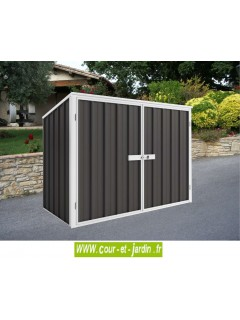 Armoire jardin Easy Bikestore, Abri metal (208x97cm)