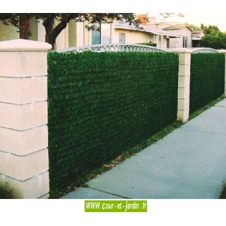 Haie végétale artificielle LUX 2/R ht 100cm x 3ml