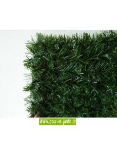 Haie végétale artificielle LUX 2/R  ht 150cm x 3ml