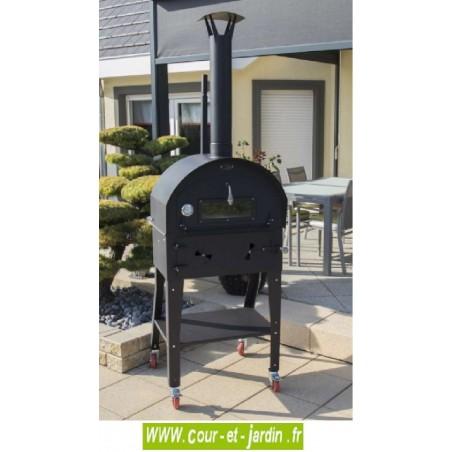 Four Barbecue Vulcano 3 multifonction de jardin