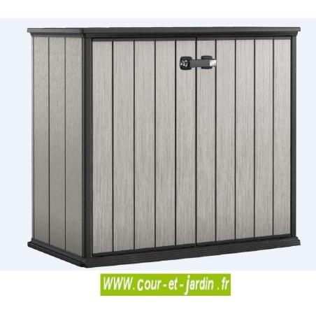 armoire de terrasse ext rieure rangement pvc armoire balcon jardin. Black Bedroom Furniture Sets. Home Design Ideas