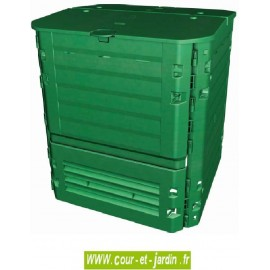 Composteur Thermo-King 600 litres vert