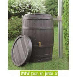 Récupérateur d'eau TONNEAU VINO avec kit, 250 L