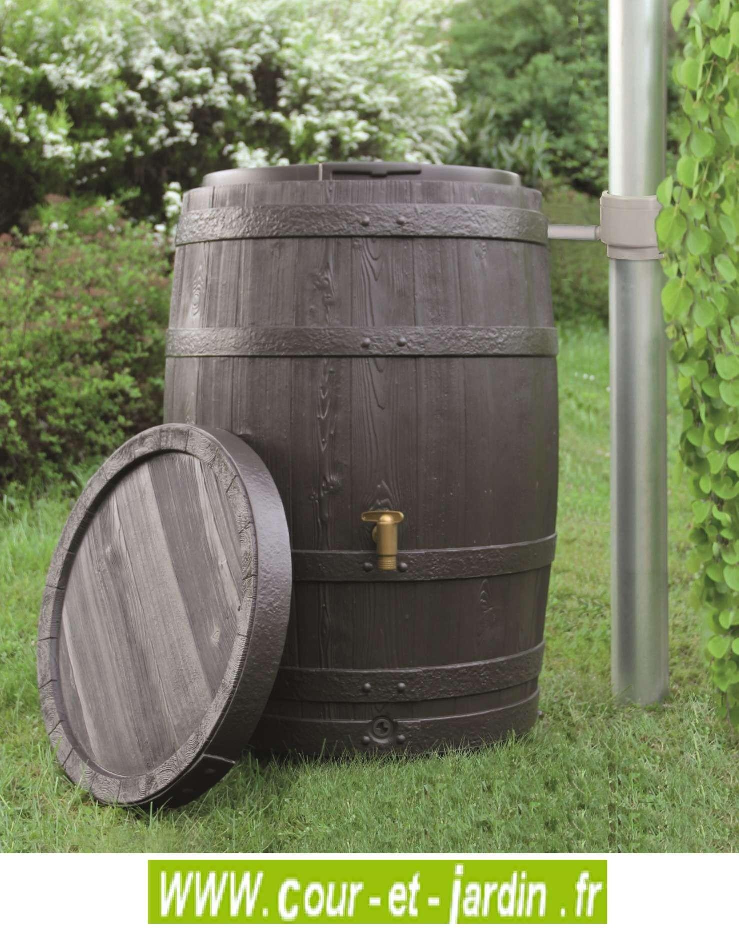 Recuperateur eau de pluie TONNEAU VINO de 250 L / cuve eau de pluie