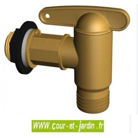 recuperateur eau de pluie tonneau vino de 250 l / cuve eau de pluie - Robinet Pour Recuperateur D Eau De Pluie