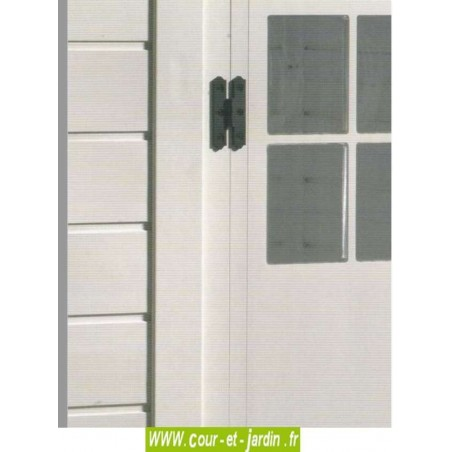 Porte abris de jardin EVO 280 - de la gamme des abris de jardin en PVC