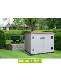 "Coffre de rangement de jardin ""BOX 100"" - coffre PVC jardin ou armoire PVC"