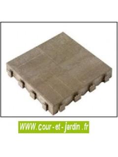 Dalles du Plancher de l'abri de jardin PVC pas cher Box 200 - Abri velo ou abri moto.