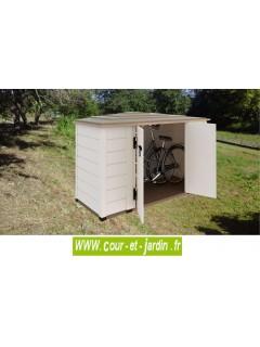 Coffre de rangement exterieur pvc BOX 200  -  coffre de jardin PVC