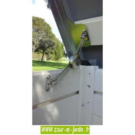 """Coffre de rangement multifonction """"BOX 100"""" en pvc   -  coffre de rangement de jardin"""