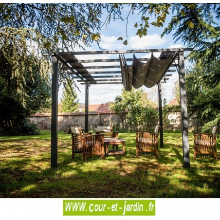 pergola terrasse alu acier pergola alu tonnelle pergola de jardin. Black Bedroom Furniture Sets. Home Design Ideas