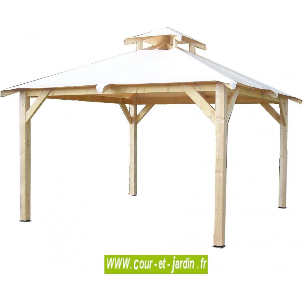 Tonnelle jardin, bois, autoportée, pergola bois, terrasse, tonnelle bois
