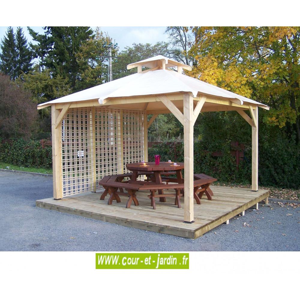 tonnelle 4x4 pergola bois 4x4 pergola 4x4 bois tonelle. Black Bedroom Furniture Sets. Home Design Ideas