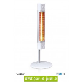 Chauffage d'appoint infrarouge Sigma 1700w blanc sans télécommande