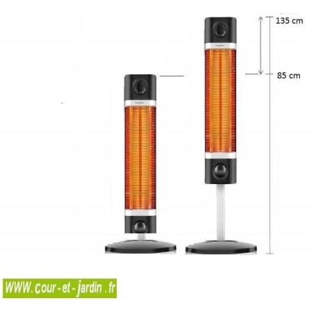 Sigma chauffage chauffage de terrasse infrarouge for Chauffage infrarouge interieur