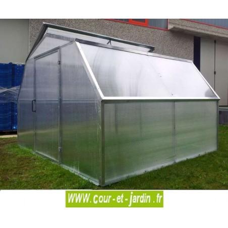 Serre de jardin en polycarbonate serres jardin avec - Serre de jardin polycarbonate pas cher ...